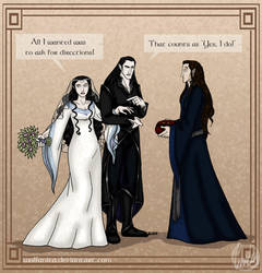 Silmarillion: Wrong Turn by wolfanita