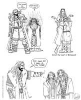 The Hobbit Small Gag Dump by wolfanita