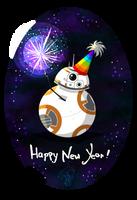 Star Wars: A BB New Year! by wolfanita