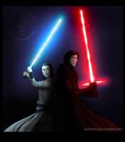Star Wars: Lights Up by wolfanita
