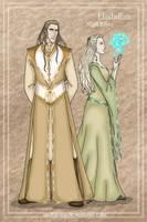 Folks of Euboa: High Elves by wolfanita