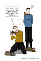 Shirt Design: Star Trek: Tribbled by wolfanita