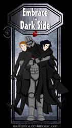 Shirt Design: Star Wars: Embrace the Dark Side by wolfanita