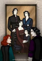 Family Reunion by wolfanita