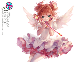 Render -1- Kinomoto Sakura by LiliLolaLolita