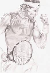 Champion Rafael Nadal by zgamer0221
