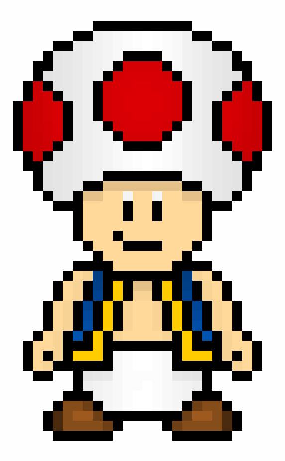 Pixel Art Toadette