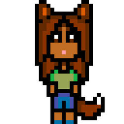 pixel werewolfie  by gwenangelly