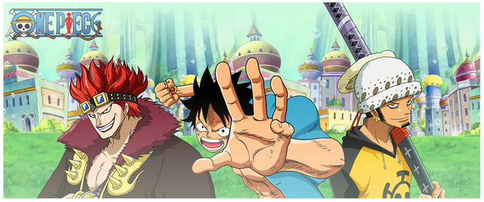One Piece - Supernovas by Tekilazo300