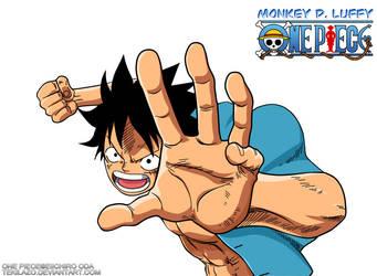 One Piece - Monkey D. Luffy by Tekilazo300