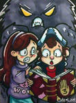 ACEO - Gravity Falls by cute-loot