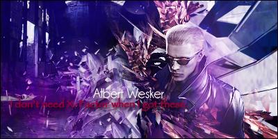 Albert Wesker - Dem Shades by xouleikha