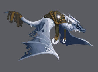 Winter Wyvern from Dota2 by APesquera