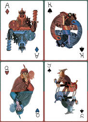 Poker Cards - Crime version by APesquera