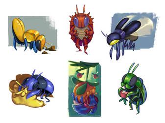 Bug guys by APesquera