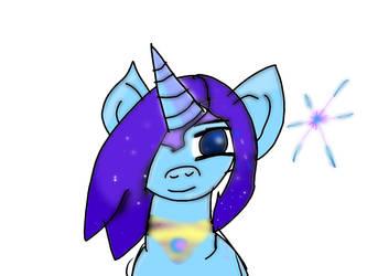 Shimmer star (mlp drawing) by Marveldrawingfan