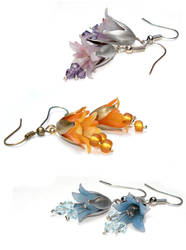 New Bellflower Earrings by Sturmdaemonin