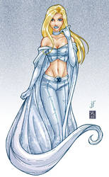 Emma Frost by SalLee