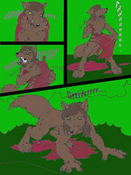 Red RidingWolf06 color by FullMoonMaster