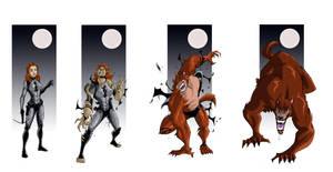 Old School Werewolf Tf 04 by FullMoonMaster