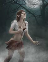 Tattered Kilt Girl Entry #2: Kristen by FullMoonMaster