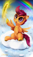 Scootaloo by Darksly-z