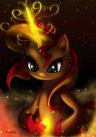 Shimmering Sun by Darksly-z
