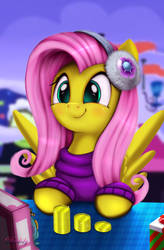 Holly The Hearths Warmer Doll (Fluttershy) by Darksly-z
