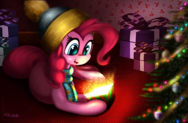 Pinkie's Present by Darksly-z