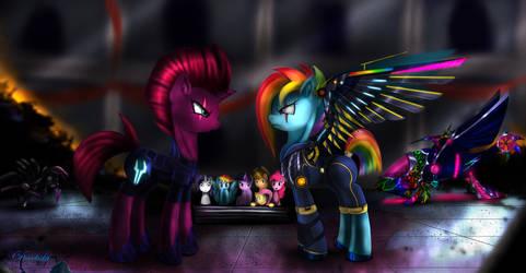 Tempest Shadow Vs Alternate Dash by Darksly-z