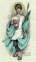 Saint Pedro Calungsod by Muko-kun