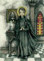 Saint Gabriel of Our Lady of Sorrows by Muko-kun