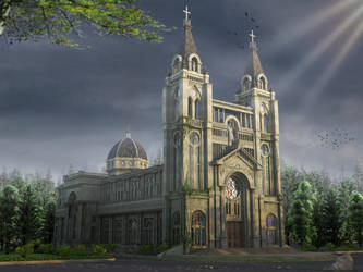 Ancient church by crystalrain2702