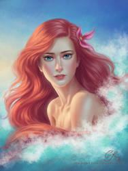 The Little Mermaid by crystalrain2702