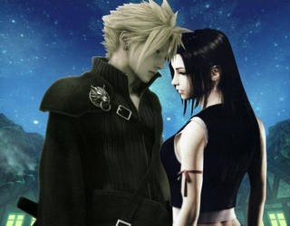Cloud x Tifa by kracykfhf