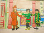 Chang Meets Agent Renaud (Origins - Tintin) by BardofMaple