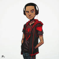 Casual Friday: Miles Morales by AndrewKwan