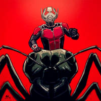 War-face Wednesday: Ant-Man by AndrewKwan