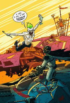 Batman: Fury Road by AndrewKwan