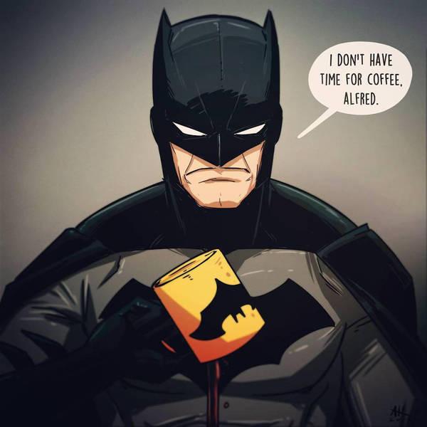 Mugshot Monday: Batman by AndrewKwan