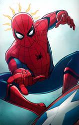 Spider-man - CIVIL WAR by AndrewKwan