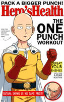 One Punch Man! Hero's Health Magazine by AndrewKwan