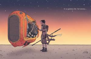 Rey: Far Far Away by AndrewKwan
