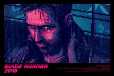 Blade Runner 2049 movie Poster by AndrewKwan