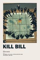 Kill Bill movie poster by AndrewKwan