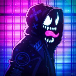 Neon Noir - Venom by AndrewKwan