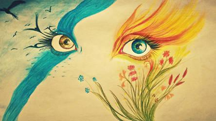 Eyes by KazenoMiho