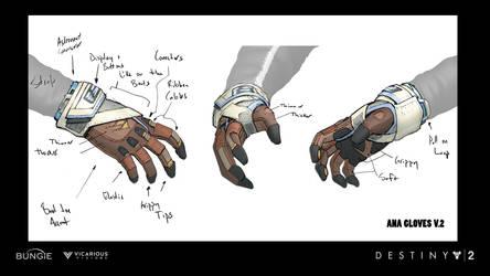 D2 Warmind Ana Gloves by JBellio