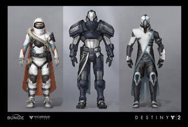 D2 Warmind Polaris Armor by JBellio