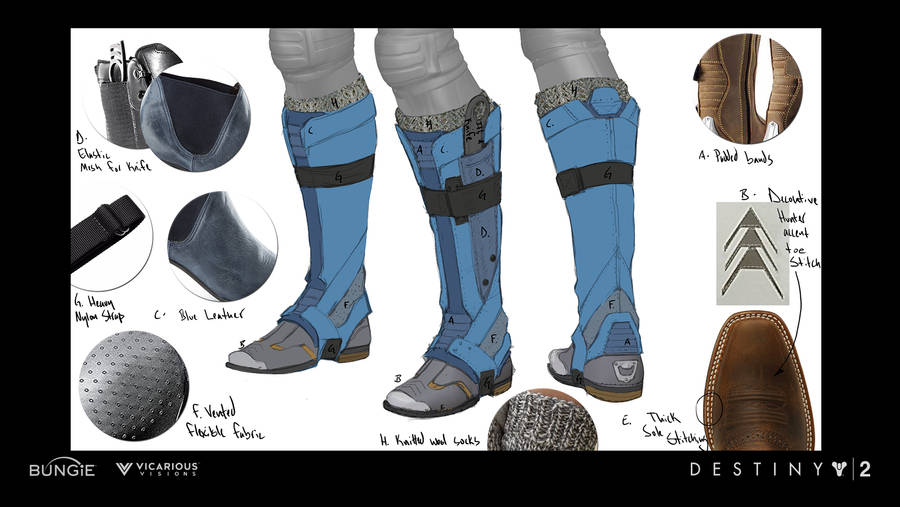 D2 Warmind Ana Boots by JBellio